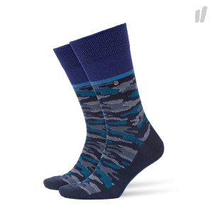 Burlington Glitter Camo Socks ( 20562-6120 / Marine )