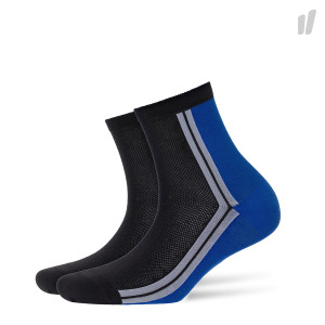 Burlington Wmns Sporty Net Socks ( 20631-3000 / Black / Blue )