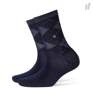 Burlington Wmns Transparent Covent Garden Socks ( 20643-6120 / Marine )