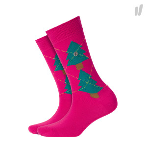 Burlington Wmns Tannenargyle Socks ( 20680-8550 / Pink )
