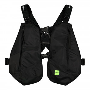 Magic Stick Bikers Vest ( 20SS-MS1-003 / Black )