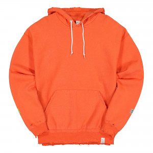 Magic Stick Destroy Hoodie By Discus Athletic ( 20SS-MS1-004 / Orange )