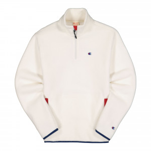 Champion Half Zip Top ( 215107-WW003 / White )