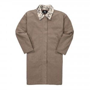 Stussy Long Corduroy Coat ( 215121 / 0821 / Taupe )