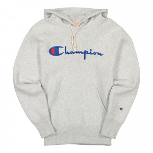 Champion Hooded Sweathsirt ( 215159-EM004 / Grey )