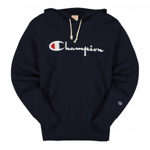 Champion Hooded Sweatshirt ( 215210-BS501 / Navy )