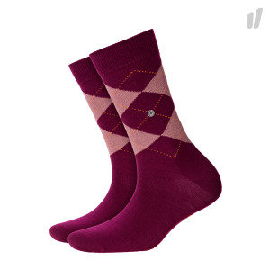Burlington Wmns Lurex Marylbone Socks ( 22182-8005 / Bordeaux )