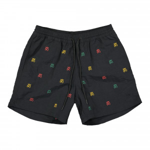 24 Kilates Swim Pant Mini Logo ( 24KSS21-SWP-03 / Black / Rasta )