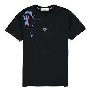 Stone Island T-Shirt ( 2NS81.V0029 / Black )