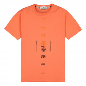 Stone Island T-Shirt ( 2NS90.V0037 / Orange )