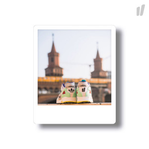 Overkill ZX10K I CAN IF I WANT Oberbaumbrücke Magnet Polaroid ( EE9486 )