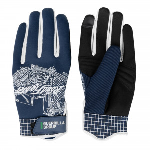 Guerrilla Group GG x ST-Line 3D Racing Gloves ( AG01-NV / Navy )