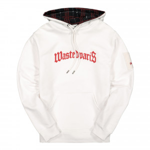 Wasted Paris Bridge Hoodie ( 128246 / White )