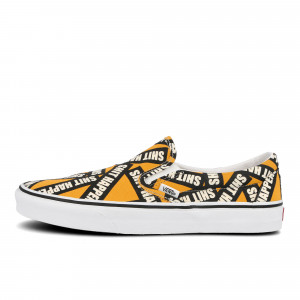 Vans Classic Slip-On Shit Happens ( VN0A4U38WTX1 )