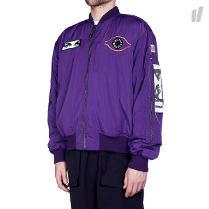 Perks And Mini P.A. Maiden Bomber ( 39060-PR Purple )