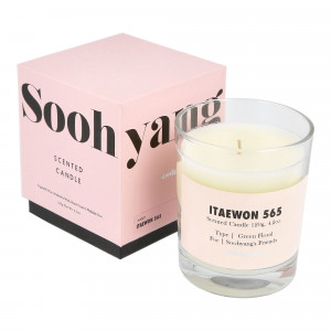 Soohyang Scented Candle 120g ( SSC / Itaewon 565 )