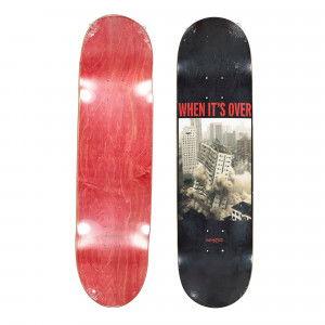 Wasted Paris Over Deck Board ( WPODB / Red )