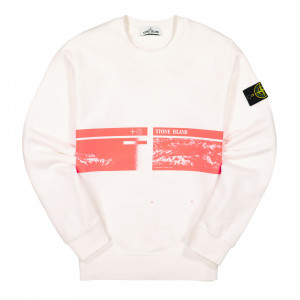 Stone Island Sweat-Shirt ( 63094.V0001 / White )