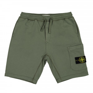 Stone Island Fleece Shorts ( 64651.V0058 / Olive )