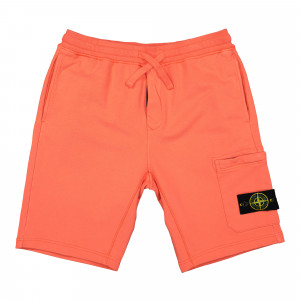 Stone Island Fleece Shorts ( 64651.V0037 / Orange )