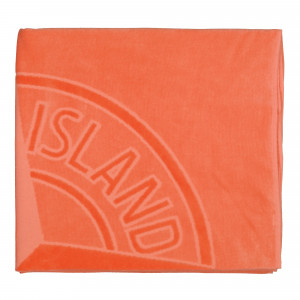 Stone Island Beach Towel ( 93177.V0037 / Orange )