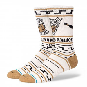 Stance The Dude Socks ( A558B20DUD-TAN )