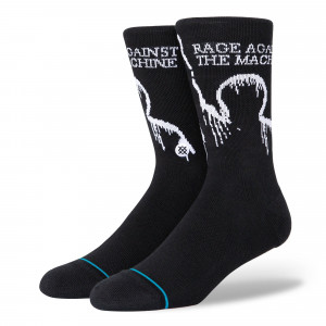 Stance Battle Of LA Socks ( A558D20BAT-BLK )