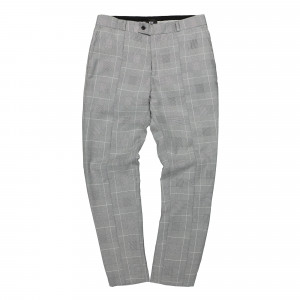 Neige Cropped Plaid Trousers ( AW1930 / Black / White )