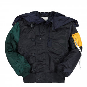 Alpha Industries x Lacoste Colourblock Bomber ( BH0704-00-ZB1 )