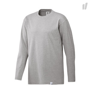 adidas XBYO LS Tee ( BQ3055 / Mid Grey Heather )