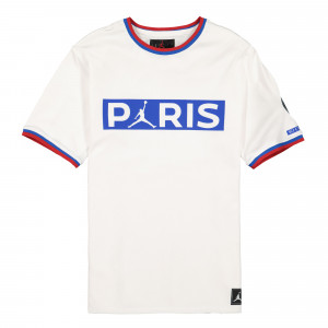Paris Saint Germain x Air Jordan SS Poly Replica Top ( BQ8358 100 )
