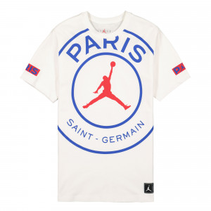 Paris Saint Germain x Air Jordan SS Logo Tee ( BQ8384 100 )