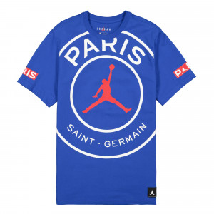 Paris Saint Germain x Air Jordan SS Logo Tee ( BQ8384 480 )