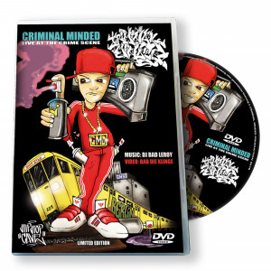 CMD Criminal Minded #4 DVD Live At The Crime Scene