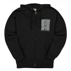 Joy Division x Pleasures Up Zip Hoody ( C19W102013 / Black )