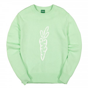 Carrots Knit Sweater ( CF19-CKS / Green )