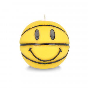 Chinatown Market Smiley Mini Basketball Candle ( CTM260070 / 0201 / Yellow )