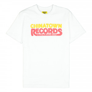 Chinatown Market Records T-Shirt ( CTSU19-CTRSS / White )