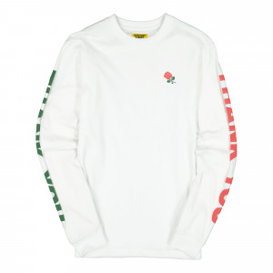Chinatown Market Thank You Long Sleeve ( CTU19-TYLS / White )