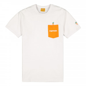 Carrots Big Signature Pocket Tee ( CSP20-BSSS / White )