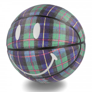 Chinatown Market Smiley Ivy League Tartan Basketball ( CTM260089 / 190097 / Tartan )