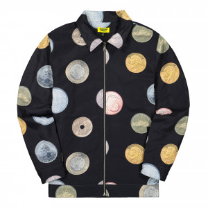 Chinatown Market Coins Work Jacket ( CTMF19-CWJK / Black )