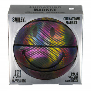 Chinatown Market 3M Reflective Smiley Basketball ( CTM-TBBALL )