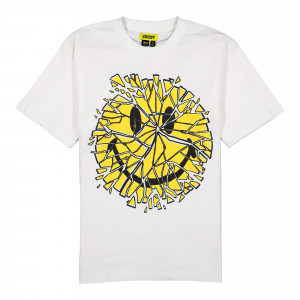 Chinatown Market Glass Smiley Tee ( F20-1990008 / 1201 / White )
