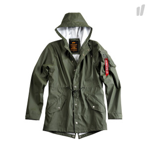 Alpha Industries Fishtail Raincoat ( 166112 142 )