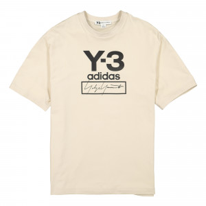 Y-3 Stacked Logo SS Tee ( FJ0410 )