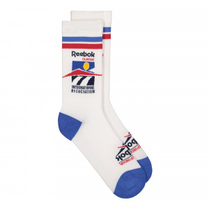 Reebok Classic Graphic International Association Crew Socks ( FL5414 )