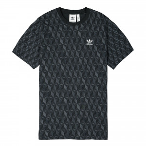 adidas Mono All Over Print Tee ( FM3423 )