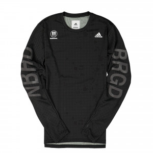 Neighborhood x adidas NBHD Compression Tee ( FQ6818 )
