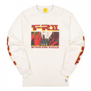 Fucking Rabbits The Finger Longsleeve Tee ( FRC595 / White )